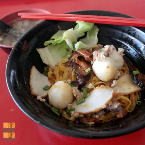 Fa Ji Minced Meat Fishball Noodle 发记肉脞鱼圆面