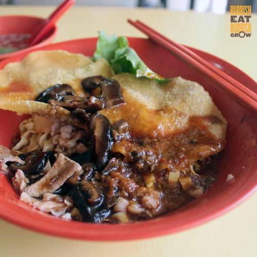 Hup Hup Minced Meat Noodle 合合香菇肉脞麺