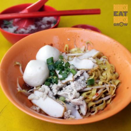 Jalan Tua Kong Lau Lim bak chor mee