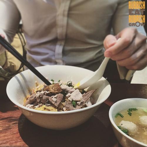Lau Dai Hua Minced Pork Noodles