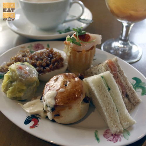 town restaurant high tea buffet price