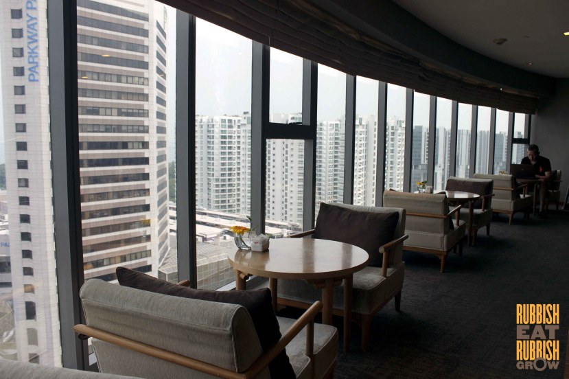 Grand Mercure Singapore Roxy executive lounge