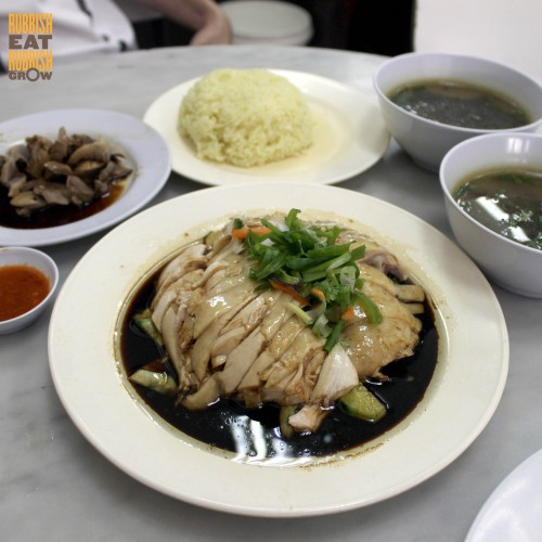 restoran nasi ayam pak kong 白宫鸡饭 ipoh