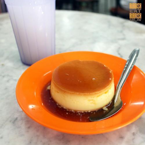 thean chun caramel custard