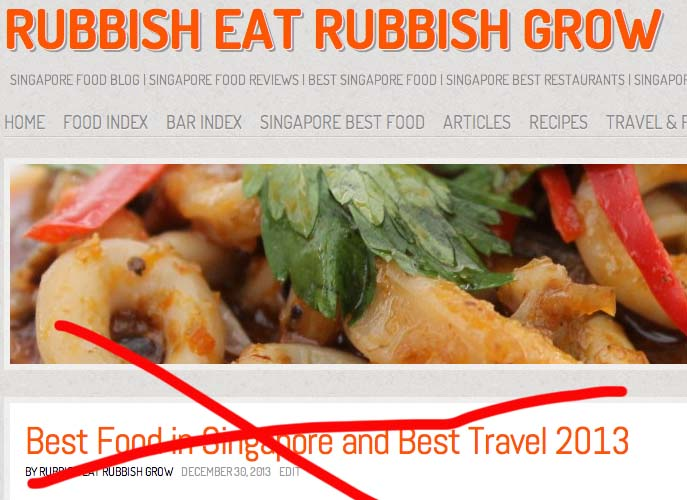 Best 50 lists on how to be popular rubbish eat rubbish grow best food forumfinder Images