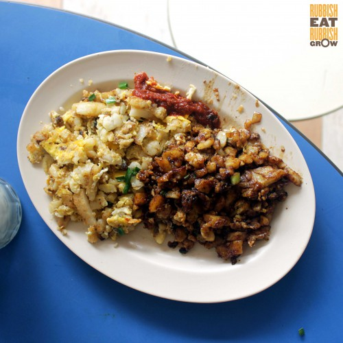 Boon Lay Fried Carrot Cake