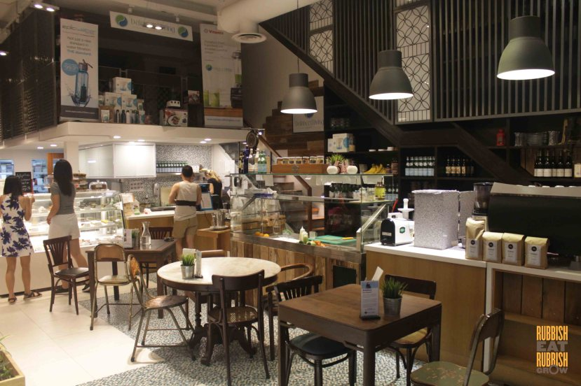 The Living Cafe Singapore Review