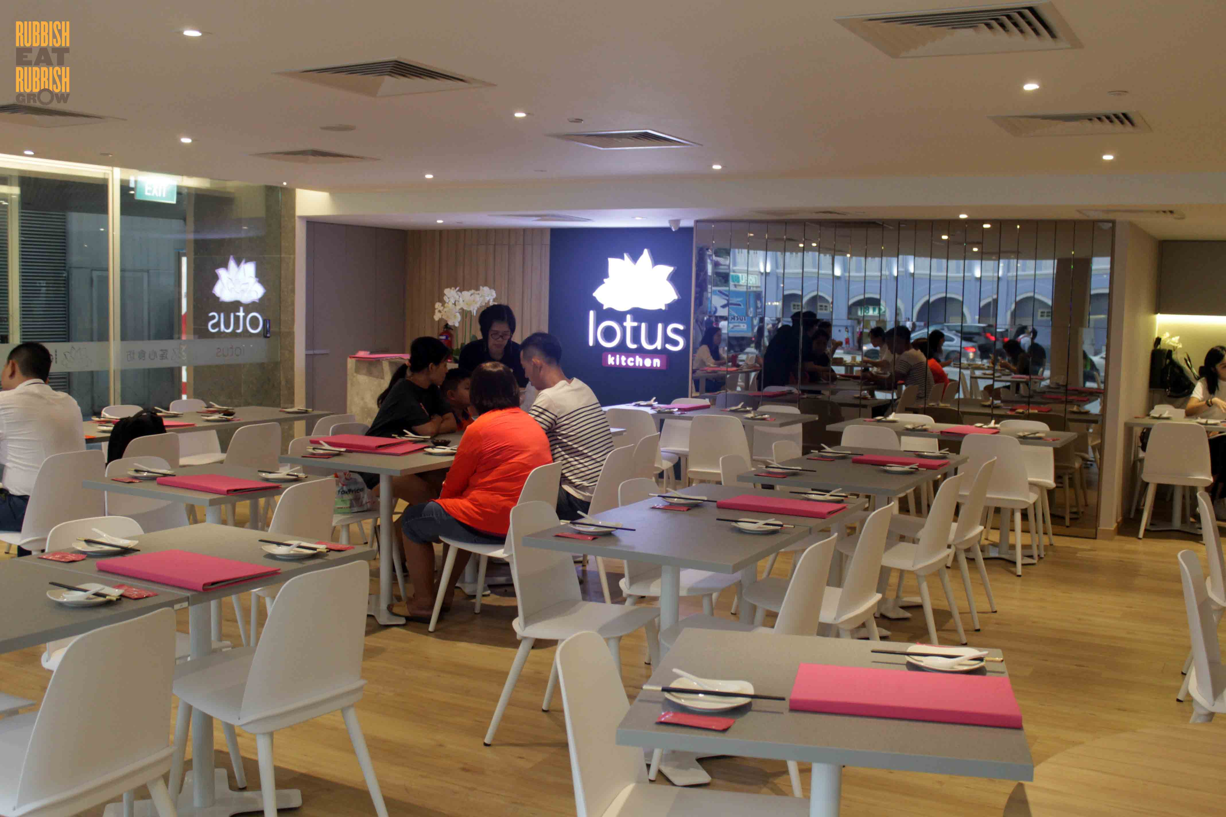 Merveilleux The New Lotus Kitchen At Chinatown Point Is An Outpost Of Lotus Vegetarian  Restaurant (Quality Hotel) And Is Under The Same Management As Greendot, ...
