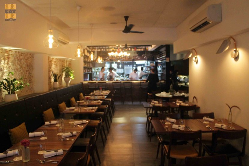 Cheek by jowl boon tat street michelin starred modern for Australian cuisine singapore