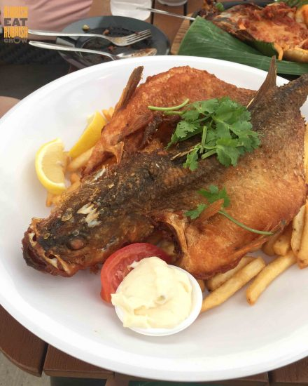 D'Grill, Punggol: Whole Fish & Chips and Sambal Hotplate Seafood