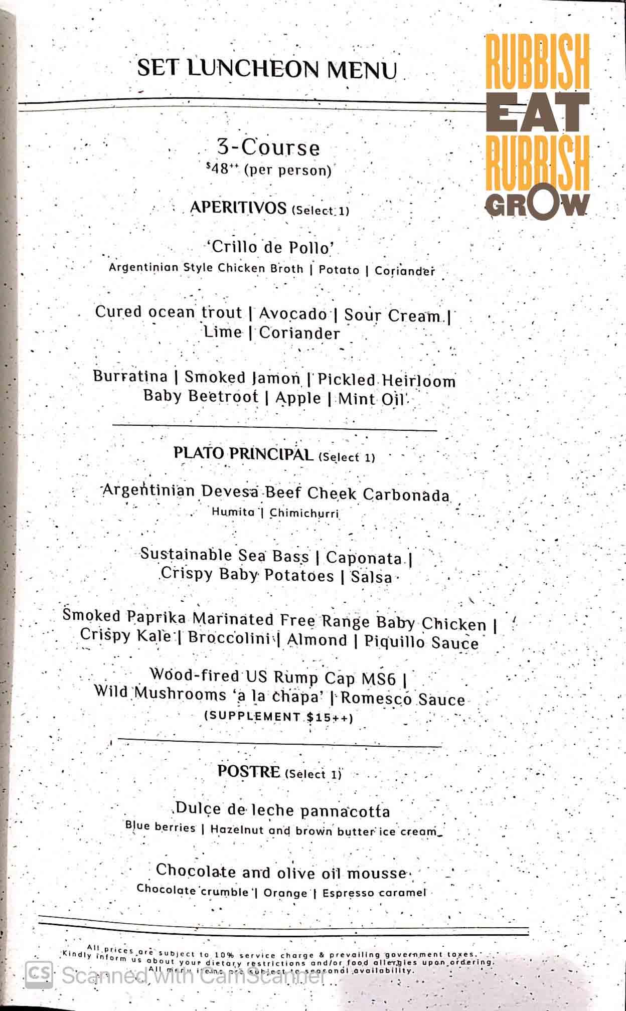 Fire@1-Atico menu