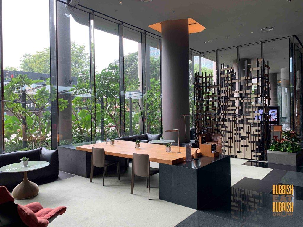 park royal pickering - hotel lobby work area