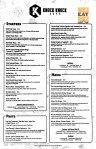 knock knock cafe menu