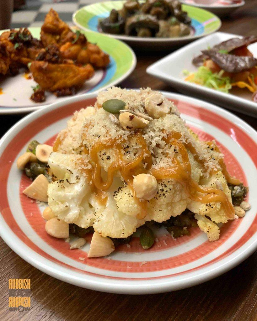 madass - miso cauliflower
