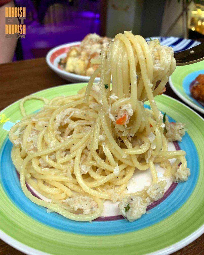 madass - crab pasta