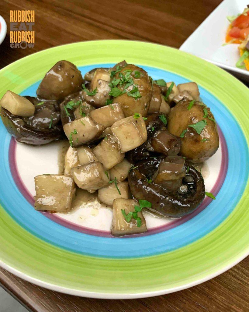 madass - sauteed mushrooms