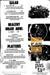 tapasta bar - grain bowl menu