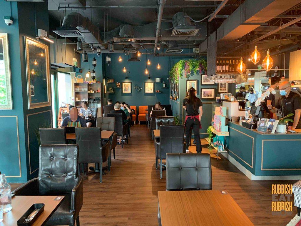 teal and orange cafe buona vista